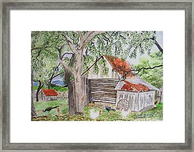 Mr. Michael's Place Framed Print