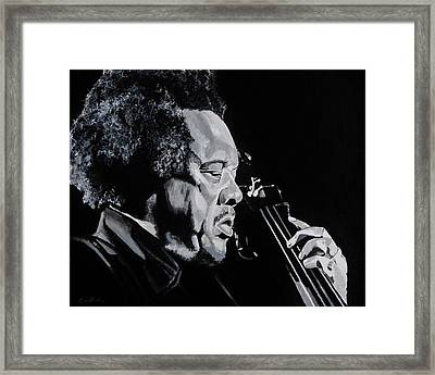 Mr Mingus Framed Print by Brian Broadway