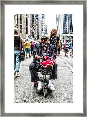 Mr. Mobile Framed Print