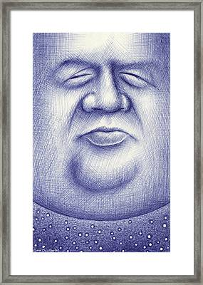 Mr. Moon Framed Print by Cristophers Dream Artistry