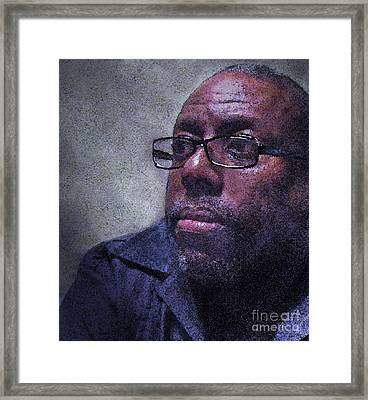 Mr. Nunn Framed Print