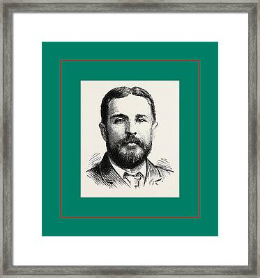 Mr. P. P. Perry Fulham, London, Uk, Britain Framed Print