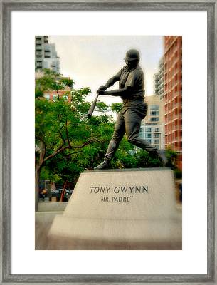 Mr. Padre- Hall Of Famer Framed Print by See My  Photos