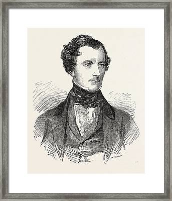 Mr. Peto, M.p. For Norwich Seconder Of The House Of Commons Framed Print