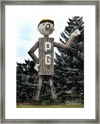 Mr. Pg Framed Print