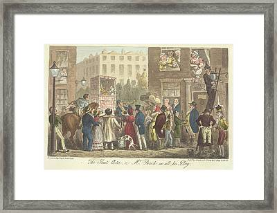 Mr Punch Framed Print by British Library