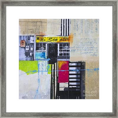 Mr. Scooter Framed Print