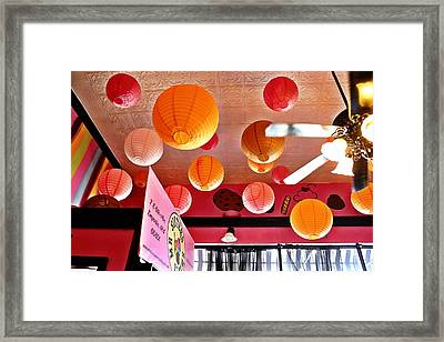 Mr Sisters Sweet Shop Framed Print by Elizabeth Sullivan