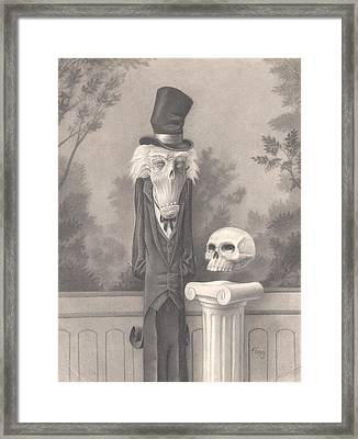 Mr. Skuggins Framed Print