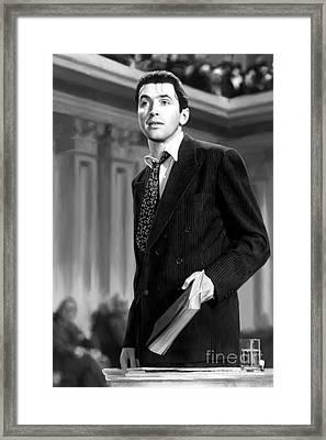Mr. Smith Goes To Washington Framed Print by Paul Tagliamonte