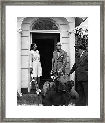 Mr. T. Markoe Robertson Framed Print