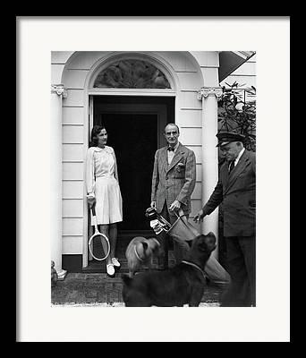 Women Tennis Photographs Framed Prints