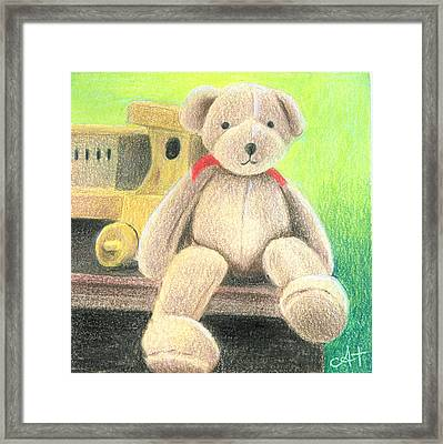 Mr Teddy Framed Print