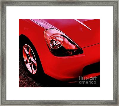 Framed Print featuring the photograph Mr Too by Andy Heavens