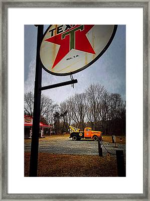 Mr. Towed's Magical Ride Framed Print