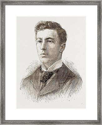 Mr. W. H. Austin Trinity Mr. F. J. W. Whipple Trinity Mr Framed Print