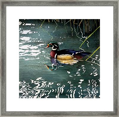 Mr Wood... Framed Print
