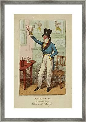 Mr Wrench As Corinthian Tom Framed Print by British Library
