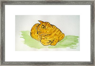 Mr. Yellow Framed Print