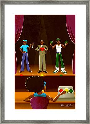 Mr.right Framed Print by Kevin Palmer