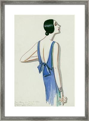 Mrs. Alexander Mclanahan Framed Print by Porter Woodruff