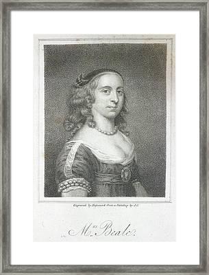 Mrs. Beale Framed Print