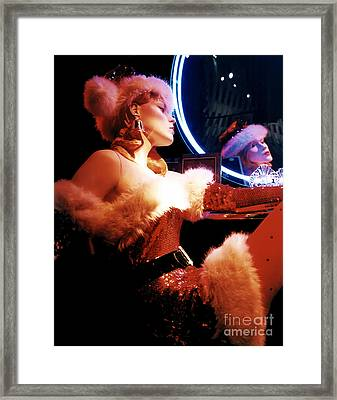 Mrs. Claus Framed Print