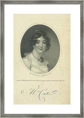 Mrs. Coutts Framed Print