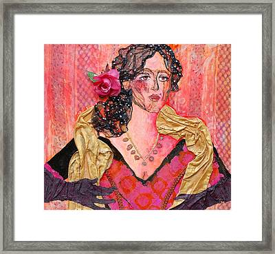 Mrs. Dedlocke Framed Print by Diane Fine