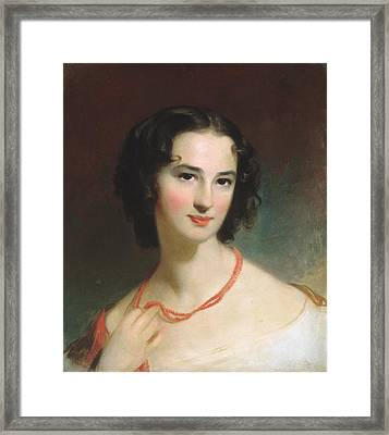 Mrs. James Montgomery Framed Print