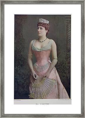 Mrs. Langtry Framed Print