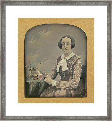 Mrs. R. Holdsworth Richard Beard, British, 1802 - 1888 Framed Print by Litz Collection