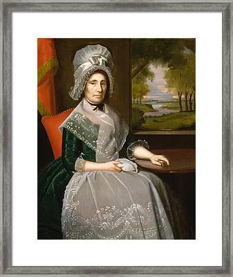 Mrs Richard Alsop Framed Print by Ralph Earl