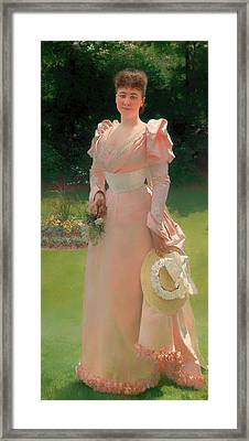 Mrs Richard Le Doux  Framed Print by Mountain Dreams