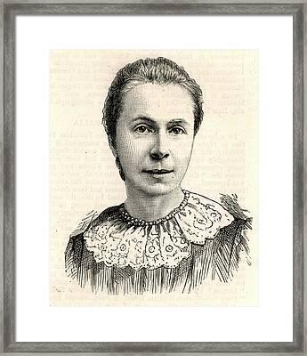 Mrs Sophia Bryant Framed Print