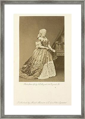 Mrs. Stirling Framed Print by British Library