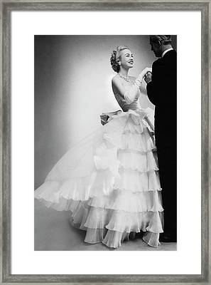 Mrs William H Mcmanus Framed Print by Roger Prigent
