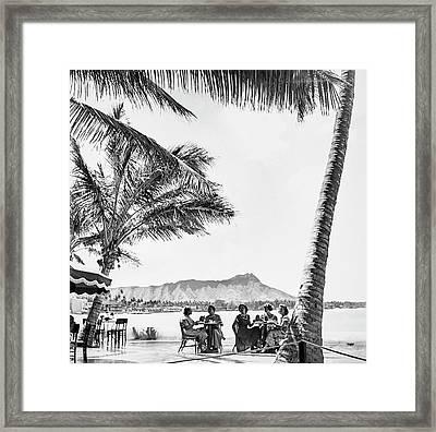 Mrs. Wiman, Mrs. John Wack, Mrs. Wiman's Two Framed Print