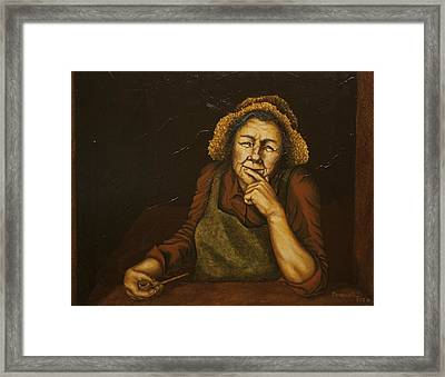 Mrs. Zackaharia Framed Print by C Michael French