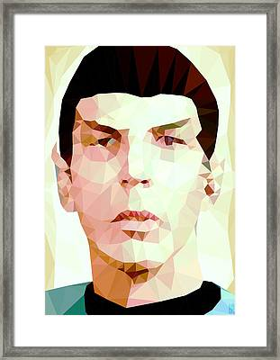 Mr.spock Framed Print by Daniel Hapi