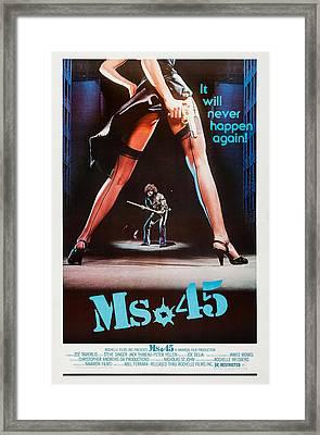 Ms. 45, Aka Ms. .45, Aka Ms 45, Poster Framed Print by Everett