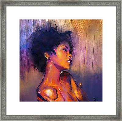 Ms Educated Framed Print
