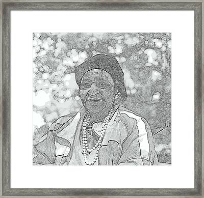 Ms. Ida  Framed Print
