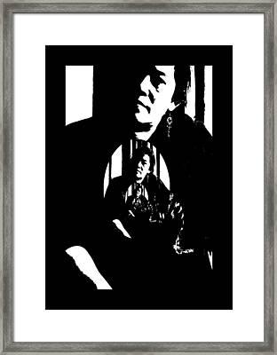 Ms Ritzy Framed Print by Serge Seymour