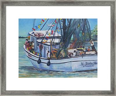 Ms. Shirley Mae Framed Print
