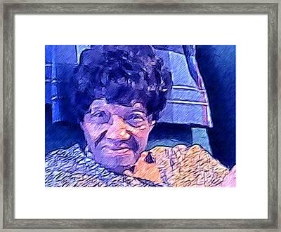 Ms. Virginia II Framed Print