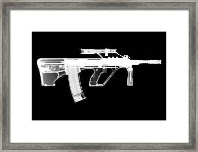 Msar Stg-556 Reversed Framed Print by Ray Gunz