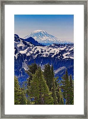 Mt Adams Framed Print by Ken Stanback