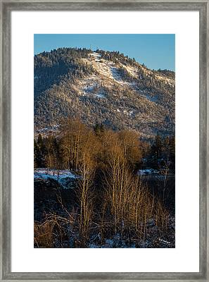 Mt Baldy Near Grants Pass Framed Print by Mick Anderson