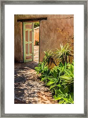 Mt Carmel Walkway Framed Print